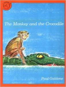 The Monkey and the Crocodile Cover Image